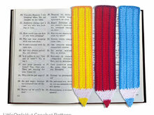 017 Crochet Pattern - Pencil bookmark or decor - Amigurumi PDF file by Zabelina CP