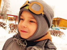 Winter Hat helmet for children,Cap Warmer.Sizes: 48-50 cm,52-54 cm,56-58 cm.