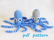 Octopus Crochet for Preemie, Amigurumi