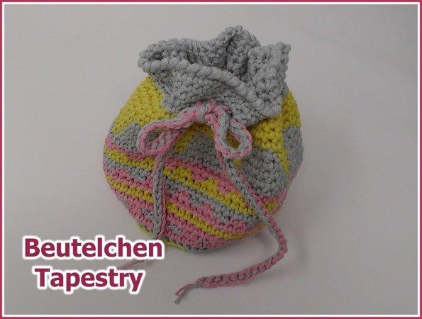 Beutel häkeln // Tapestry häkeln // DIY
