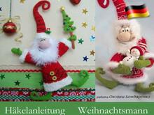 Figuren Häkeln Z B Schneemann Oder Weihnachtsmann Häkeln