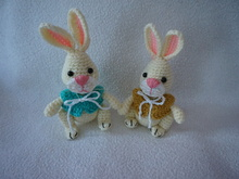 Little bunny crochet pattern