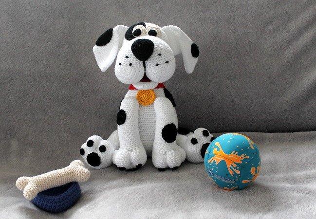Hund häkeln // Dalmatiner +++ Mischling