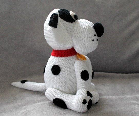 Hund Häkeln Dalmatiner Mischling