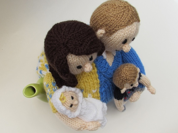 Will and Kate Tea Cosy