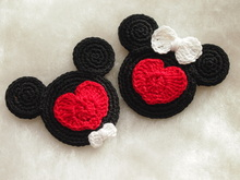 Valentine Mickey and Minnie