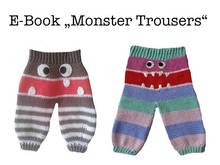 "E-Book ""Monster Trousers"" 0-9 month"