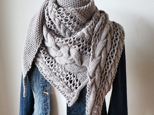 "Strickanleitung Tuch ""Cozy Winter"""