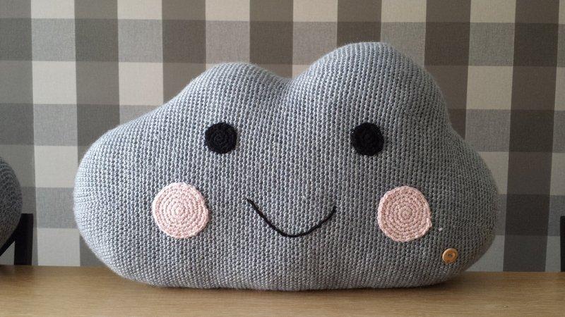 crochet cloud pattern (large)