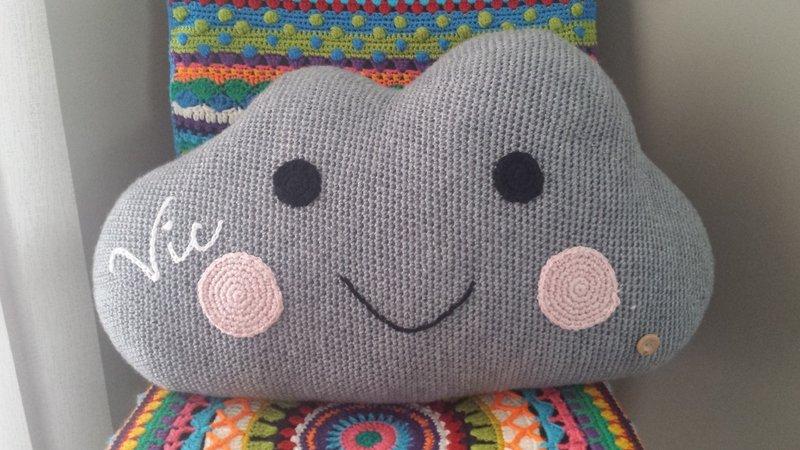 Crochet Cloud Pattern Large