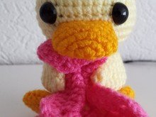 Crochetpattern Duck with blanket