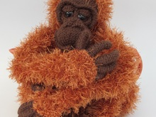 Orangutan Tea Cosy Knitting Pattern