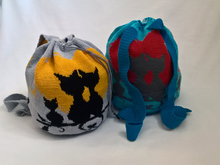 Crochet Pattern Backbag Familycats