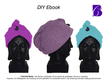 PDF E-Book Tutorial & Pattern Hair Dry Towel