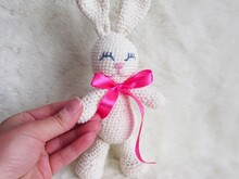 Crochet Rabbit,soft toy for children and baby