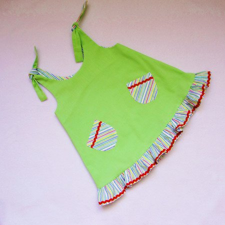 Sundress for baby girls and toddler,easy to make dress,sizes 3/6, 6/9, 9/12, 1T, 1,5T, 2T, 3T to fit 3 months to 3 years.