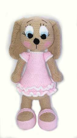 pattern amigurumi dog lulu XL PDF english-Deutsch-dutch