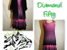 Set Diamond Fifty (Rock, Jacke, Pullover)