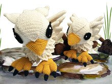 Griffin Mama & Baby Pattern Amigurumi PDF Deutsch - English