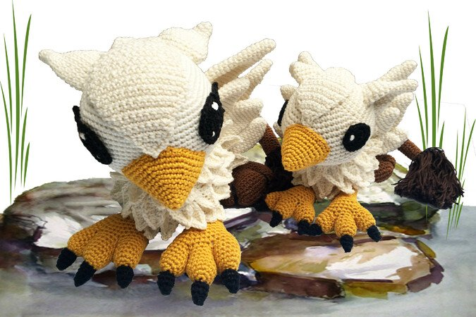 Griffin Mama Baby Pattern Amigurumi Pdf Deutsch English