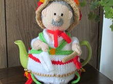 Morris Dancer Tea Cosy