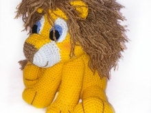 pattern amigurumi jack, the lion PDF english-Deutsch-dutch