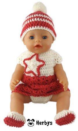 Häkelanleitung Puppen-Set \