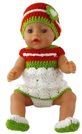 Häkelanleitung Puppen Set Baby Born