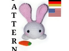 pattern amigurumi small rabbit . little bunny PDF engish - deutsch