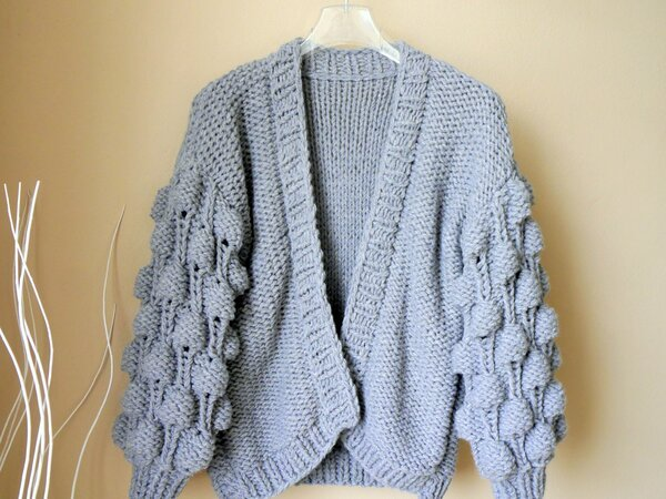 Strickanleitung  - Cardigan BUBBLES - No.194/E
