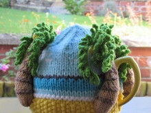Palm Tree Beach Tea Cosy