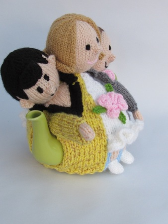 Las Vegas Elvis Wedding Tea Cosy