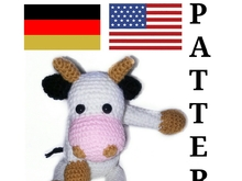 pattern sweet cow PDF english-deutsch