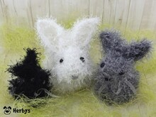 "Strickanleitung ""Familie Hase"""