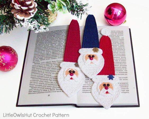 Santa Claus, Crochet pattern | 450x563