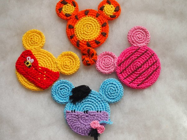 Beautiful Skills - Crochet Knitting Quilting : Minnie Mouse ... | 450x600