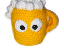 pattern amigurumi beer mug free PDF english-deutsch
