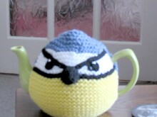 Bluetit Tea Cosy