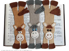 031 Crochet Pattern - HorsE-Bookmark or decor - Amigurumi PDF file by Zabelina CP