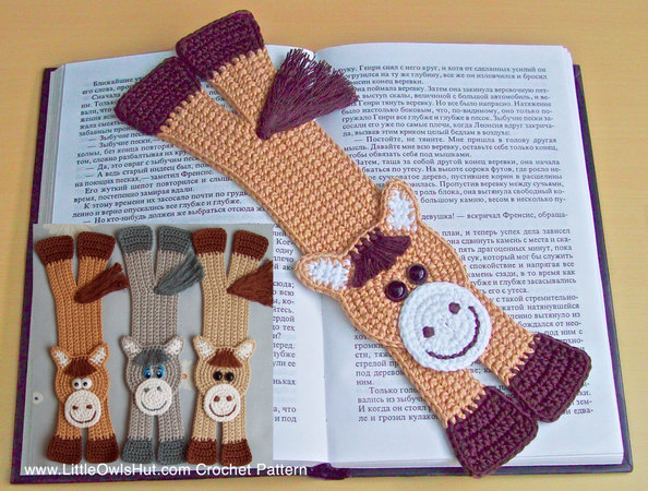 Crochet Bookmarks Best Patterns And Ideas | The WHOot | 450x594