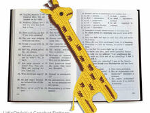 045 Crochet Pattern - GiraffE-Bookmark or decor - Amigurumi PDF file by Zabelina CP