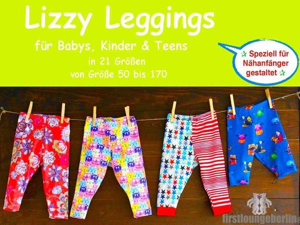 Kinder-Leggings nähen // Größen 50 bis 170