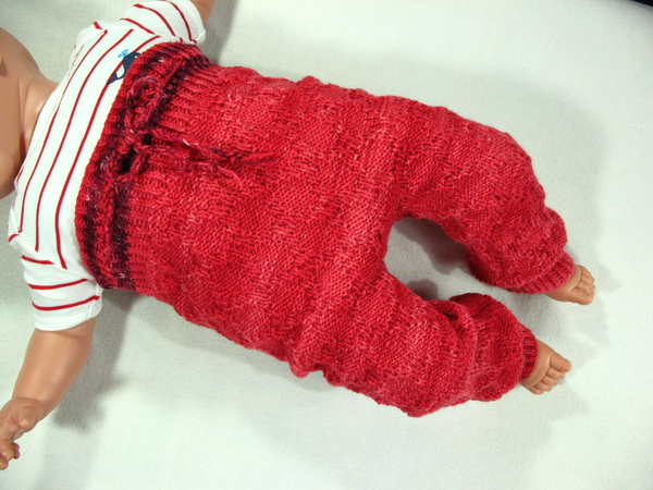 Babyhose, Babyjacke und Mütze für 3-12 Monate - Strickanleitung Sparset