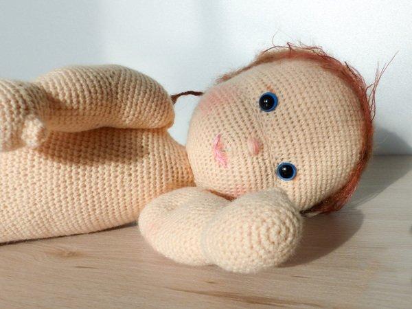 "Püppchen ""Alani"" Häkelanleitung, 35 cm, Puppe häkeln, Puppe Anfänger ..."