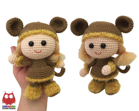 Amigurumi Monkey Patterns : Amigurumi crochet monkey pattern supergurumi