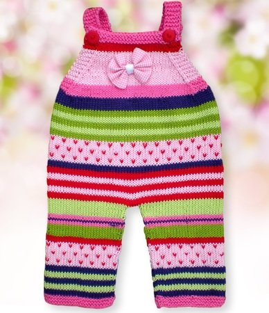 Knitting Tutorial Baby Pants in 3 Sizes