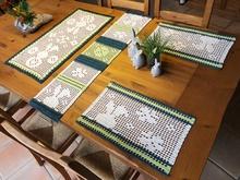 Tischläufer Häkeln Granny Squares Häkeln