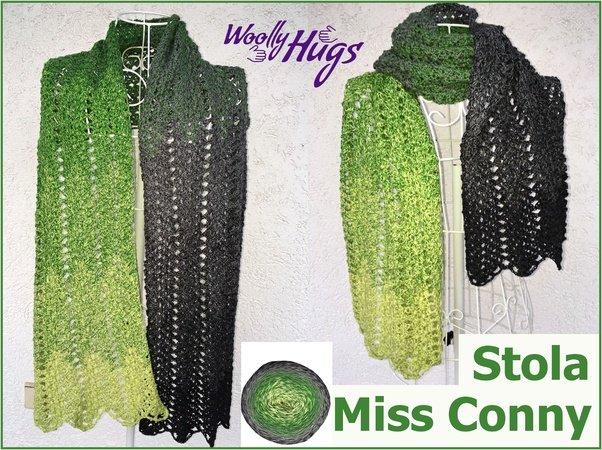 Stola Miss Conny Häkeln Mit 1 Bobbel Cotton Xtra Von Woolly Hugs