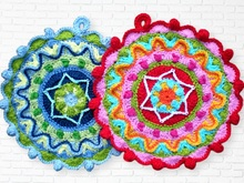 potholder crochet pattern