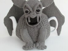 Gargoyle Tea Cosy Crochet Pattern